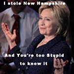 Why Hillary was Smiling in New Hampshire