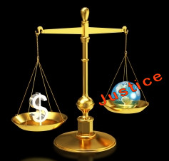 Money vs Justice